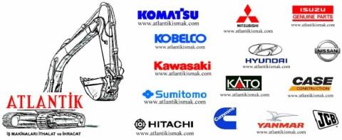 iş makinaları motor yedek parçaları, komatsu, mitsıubishi, cummins, isuzu, nissan, hino, yanmar motor parçaları